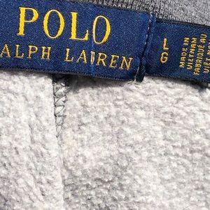 Polo sweatpants gray Men's size Large